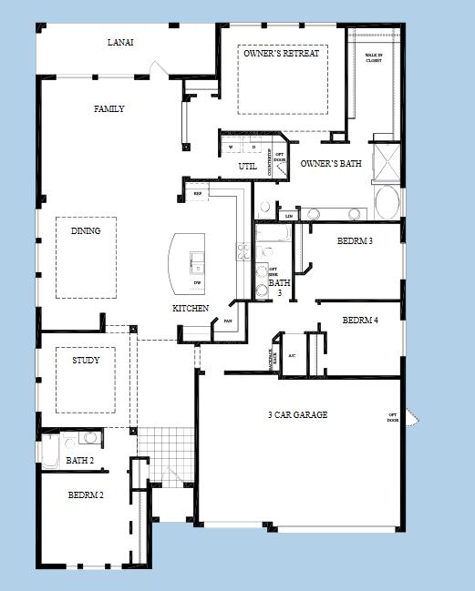 David Weekley 60 Beardsley Waterset New Construction Homes In Apollo Beach