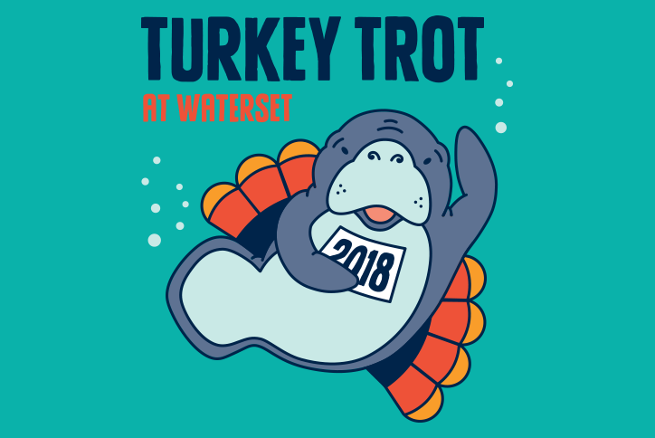 Turkey Trot at Waterset logo