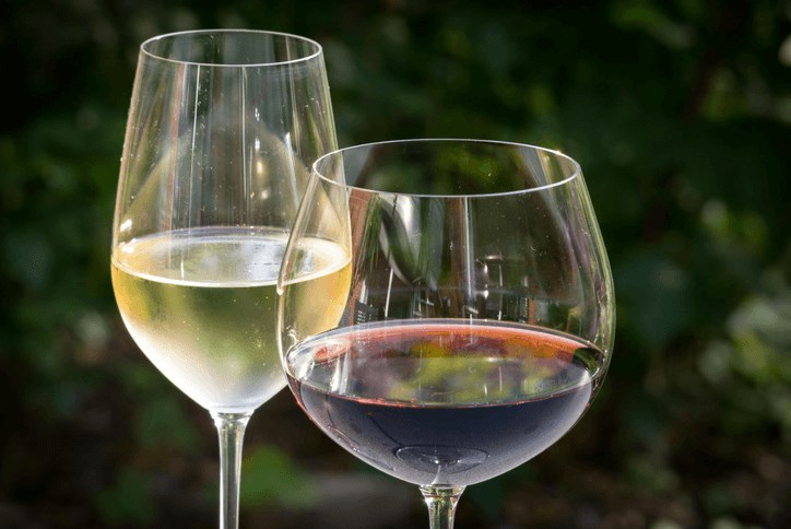 Wine glasses for Wine Down Friday at The Landing in Waterset by Newland Apollo Beach, Fl