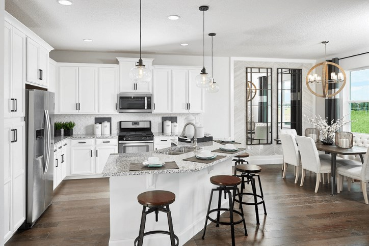 Park Square Homes Kitchen at Waterset by Newland