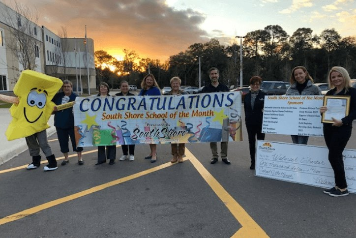 Waterset Charter School Apollo Beach School of the Month