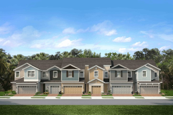 Park Square Homes Waterset by Newland town homes.