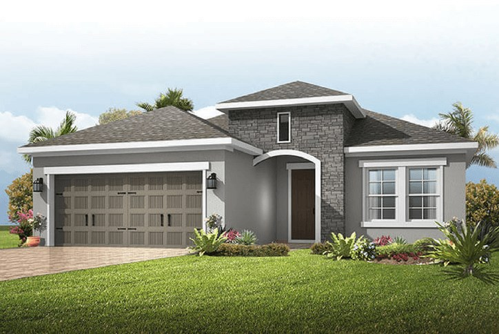 Cardel Homes at Waterset Model New Home construction  Apollo Beach