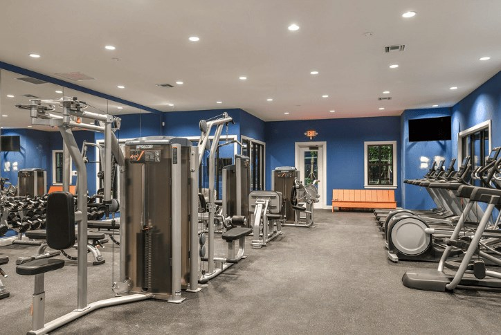 Amenities Waterset Club Apollo Beach workout, exercise, fit