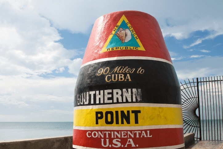The Southernmost Point in Key West is one of the top things to do in Florida
