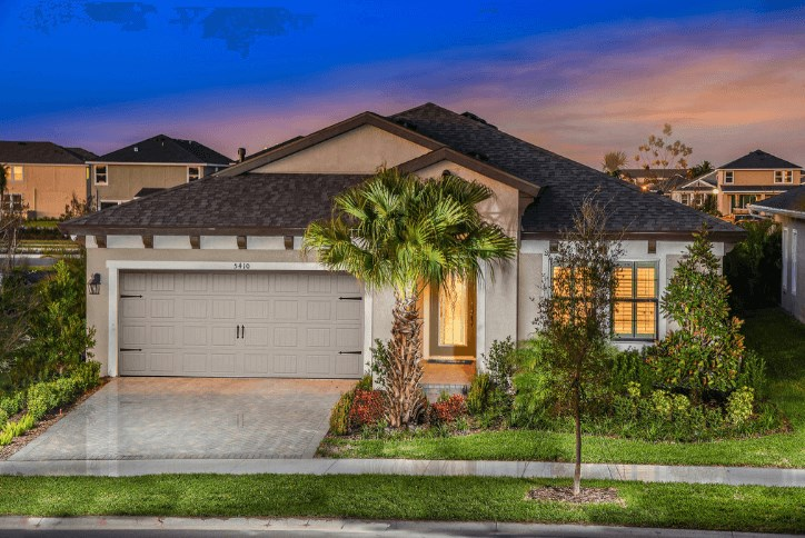 One story new home in Waterset community in Apollo Beach