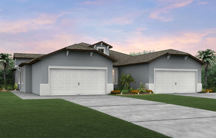 Serenity villa by Pulte Homes