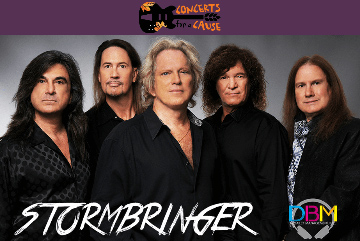 Stormbringer band for Waterset Concerts for a Cause