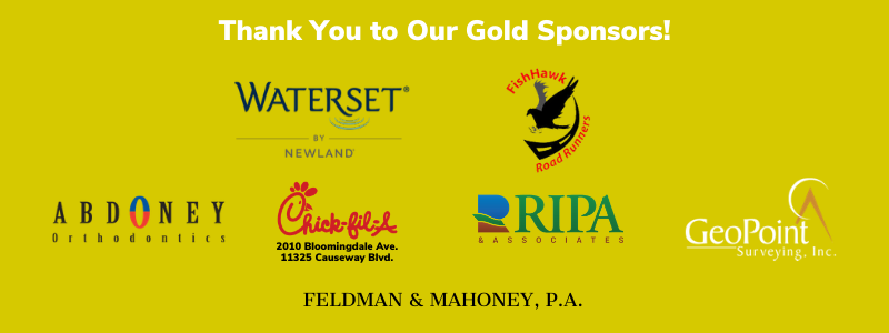 Thank You to Our Gold Sponsors of the Turkey Trot in Waterset