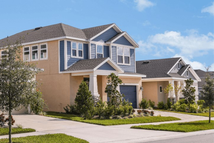 Street in Waterset by Newland Apollo Beach, Fl new home construction